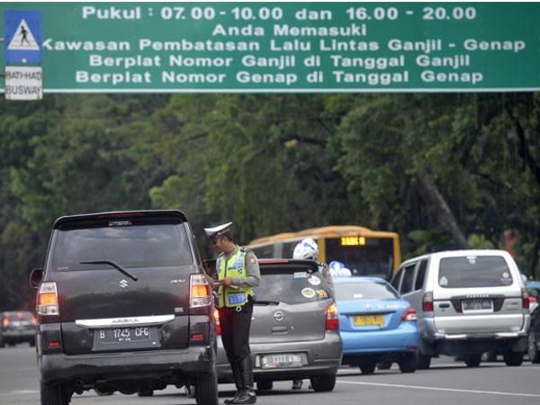 Ada Mobil dengan Rancangan Khusus yang Bebas Tilang Ganjil-Genap Jakarta