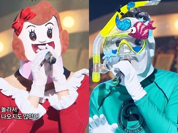 Leader dan Maknae Idola K-Pop Ini Unjuk Kemampuan Vokal Memukau di 'King of Masked Singer'