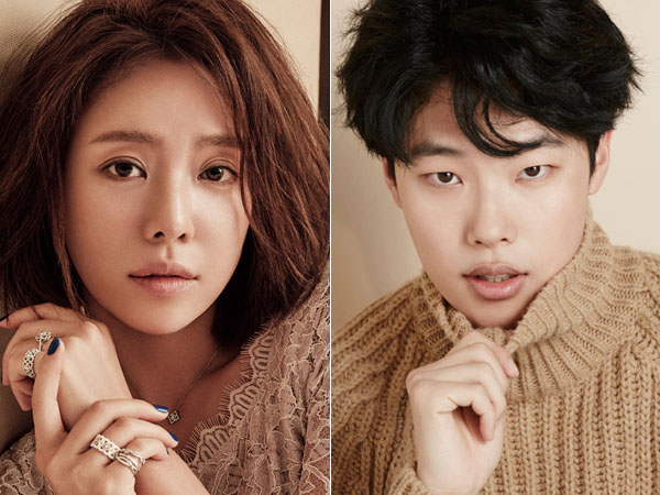 Wah, Hwang Jung Eum dan Ryu Jun Yeol Sudah Terlihat Syuting Drama 'Lucky Romance'?