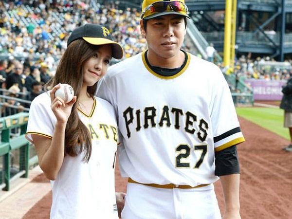 Dari Berteman, Hyomin T-ARA dan Atlet Baseball Kang Jun Ho Pacaran?