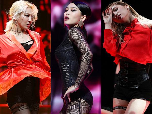Hyoyeon SNSD, Bora Sistar, & Momo TWICE Tampil Sexy di Teaser Mnet 'Hit the Stage'!