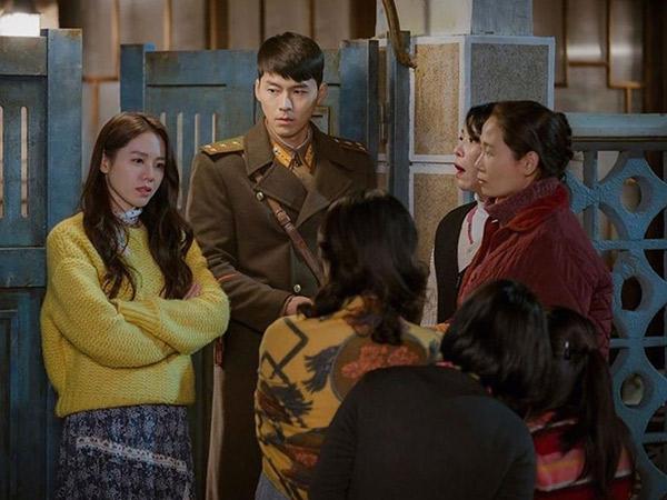 Momen Lucu Hyun Bin dan Son Ye Jin Pura-pura Pacaran Bikin Bingung Warga Korut