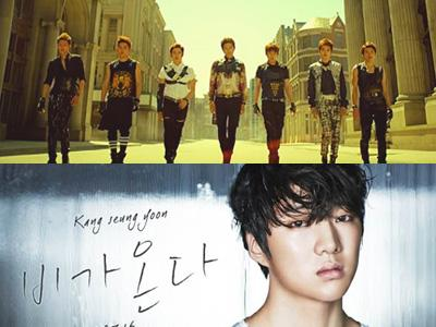 Wow, INFINITE dan Kang Seung Yoon Bersaing Ketat di Berbagai Chart Musik!