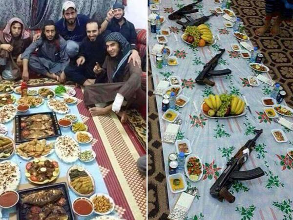 Keracunan Makanan Saat Buka Puasa, 45 Anggota ISIS Tewas