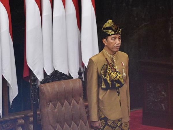 Izin Pindahkan Ibu Kota, Intonasi Jokowi Meninggi Saat Bahas Ini di Pidato Sidang Bersama DPR-DPD