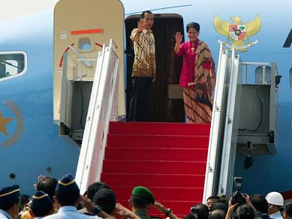 Presiden Jokowi Blusukan ke Perbatasan Kalimantan Barat-Malaysia