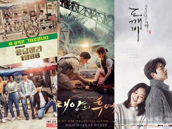 Didominasi K-Drama, Ini Dia Program TV Korea yang Paling Banyak Ditelusuri Selama Tahun 2016!