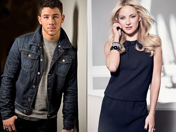 Bantah Pacaran, Kate Hudson dan Nick Jonas Malah Kepergok Ciuman?