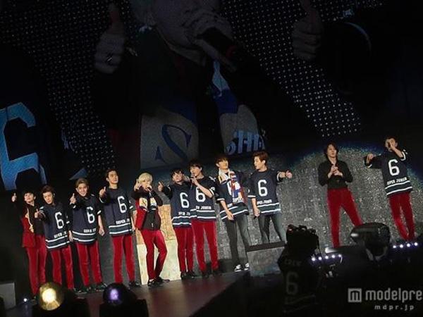 Dua Hari Gelar 'Super Show 6' di Tokyo Dome, Super Junior Sukses Kumpulkan 110 Ribu ELF!