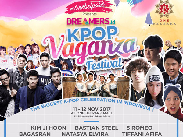 Yuk Ramaikan Pesta Musik K-Pop Terbesar di Indonesia, 'KPopVaganza Festival 2017'!