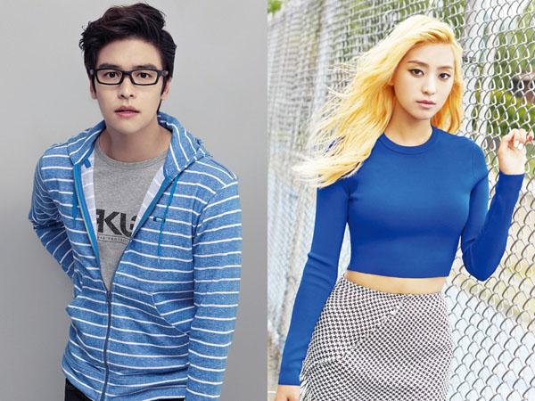 Member 'Laws of the Jungle' Goda Lee Jang Woo dan Bora Sistar untuk Bertukar Nomor Ponsel!