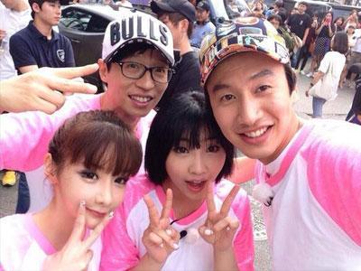 Syuting Dekat Gedung YG Entertainment, Running Man Bertemu Banyak Artisnya?