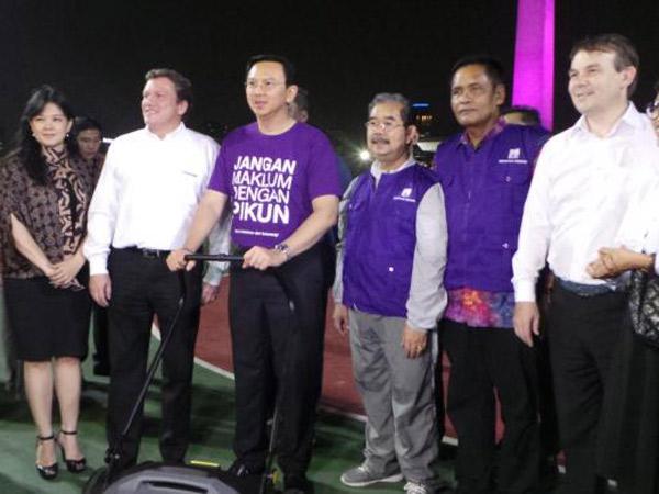 Yuk, Kenalan Dengan 'Pasukan Ungu' Yang Siap Bertugas di Ibukota Jakarta