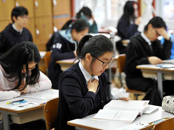 Remaja Korea Selatan Lebih Merasa Tertekan Saat Semester Baru Dimulai