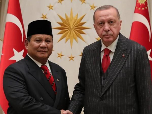 Kunjungi Turki, Prabowo Bahas Kerjasama Pertahanan