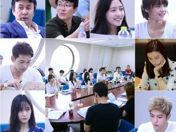Rain, Krystal f(x), L Infinite, dan Lainnya Berkumpul di Sesi Baca Skrip 'My Lovely Lady'