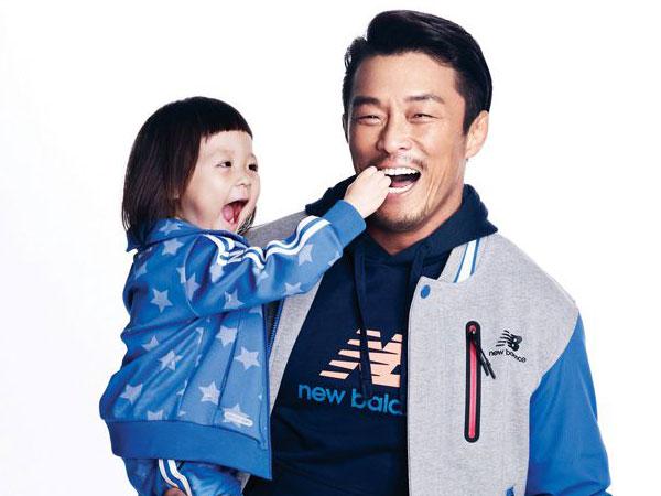 Imutnya Chu Sarang Saat Temani Ayah di Lokasi Drama 'Triangle'