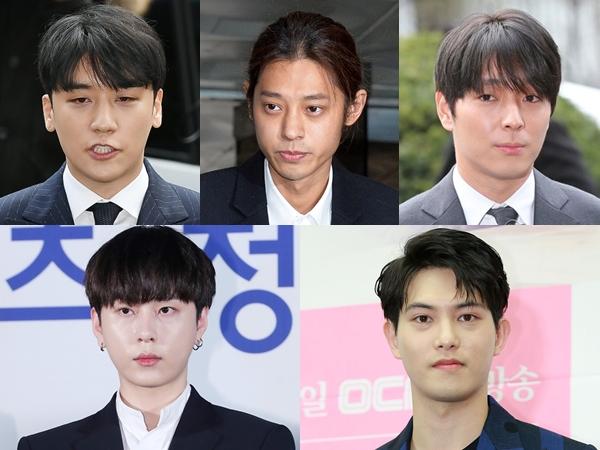 Ada Nama Baru, Total 8 Penyanyi Masuk Grup Percakapan Vulgar Jung Joon Young dkk