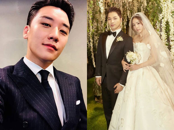 Alasan Menyentuh Taeyang Ingin Seungri Menyanyi di Pernikahannya