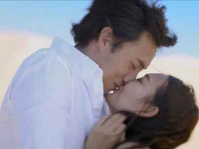Iklan Baru, So Ji Sub dan Shin Min A Ciuman di Gurun