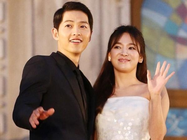 Song Hye Kyo Unggah Foto Perdana Bareng Song Joong Ki Usai Resmi Menikah