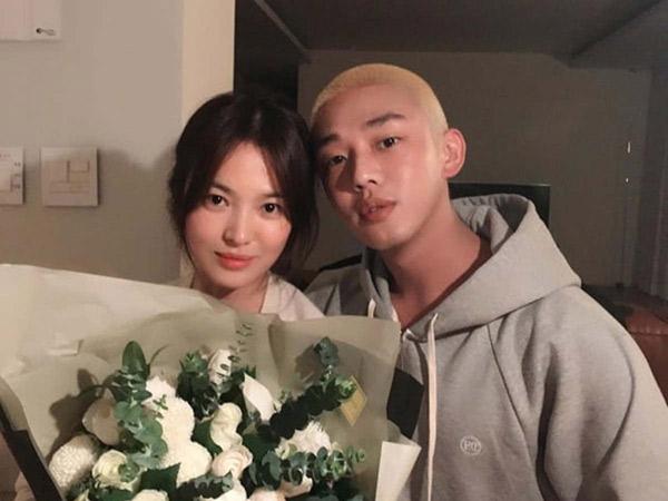 Song Hye Kyo Hadiri VIP Screening Film Terbaru Yoo Ah In #ALIVE
