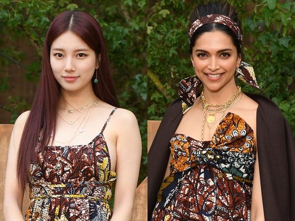 Gaun Batik 'Kembar' Suzy vs Deepika Padukone, Who Wore It Better?