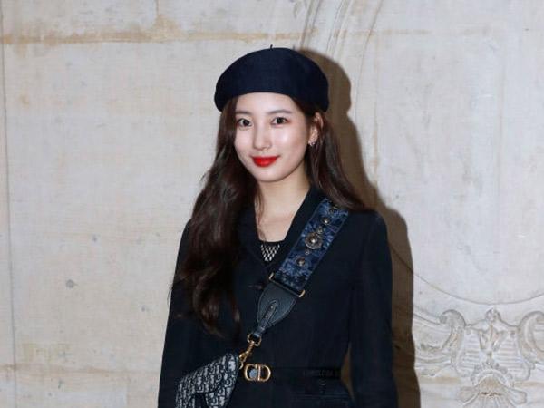 Suzy Tampil Menawan di Fashion Show Dior A/W 2019 di Paris