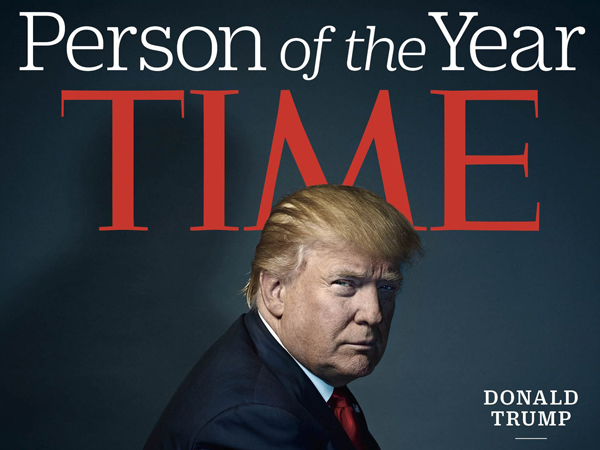 Jadi Sosok Tahun 2016, TIME Beri Judul 'Menyentil' untuk Donald Trump
