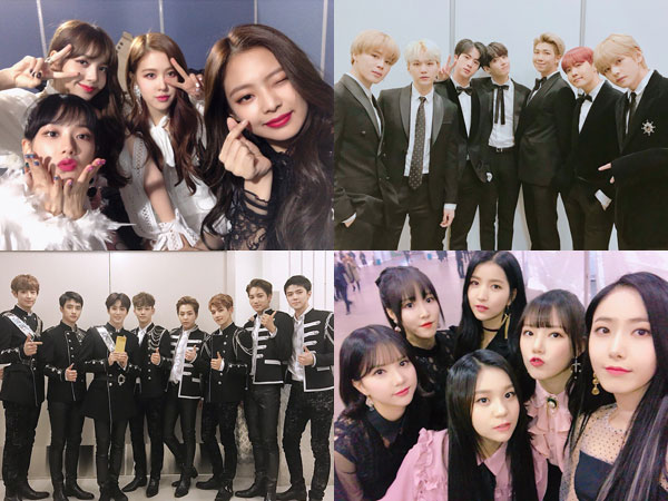 Naver V Live Rilis Daftar 10 Artis Paling Populer dan Dicintai Fans Global