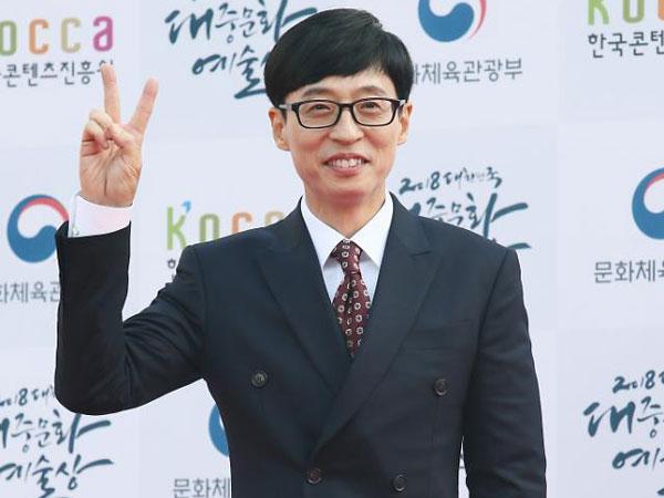 Tujuh Tahun Berturut-turut, Yoo Jae Suk Terpilih Jadi Komedian Terbaik di Korea