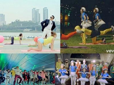 Wah, 'Bar Bar Bar' Versi Baru Crayon Pop Parodikan 'Gangnam Style' Psy?