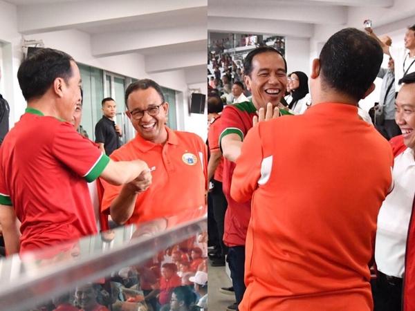 Video Viral Gubernur Anies Baswedan Dicegah Paspampres Gabung Jokowi di Podium Piala Presiden