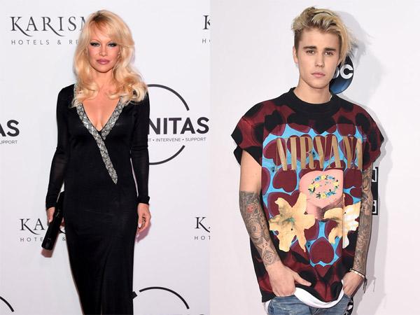 Putus dari Sofia Richie, Justin Bieber Dekati Pamela Anderson?