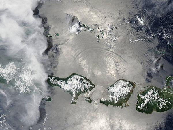 NASA Rilis Foto Pulau Indonesia dari Angkasa, Begini Tampilannya!