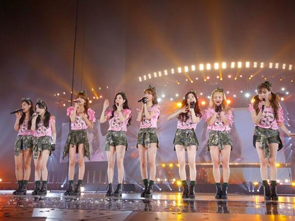 Kelalaian Staff Buat SNSD Alami Insiden Jatuh Saat Latihan untuk Konser SMTOWN