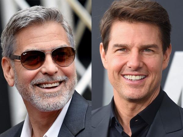 George Clooney Dukung Tom Cruise Marahi Kru Film yang Langgar Protokol Kesehatan