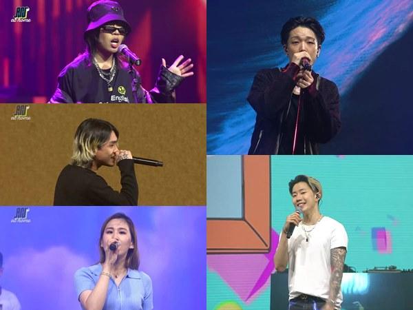 Bobby, Jay Park hingga Ramengvrl Hibur Penggemar di Asian Sound Syndicate At Home