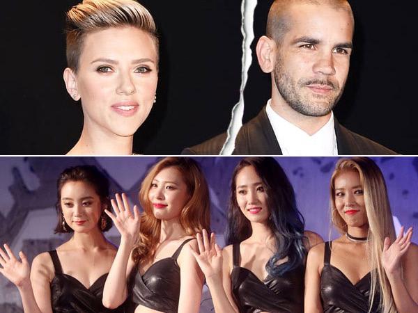 Scarlett Johansson Bercerai Hingga Wonder Girls Bubar Jadi Berita Panas di Minggu Terakhir Januari