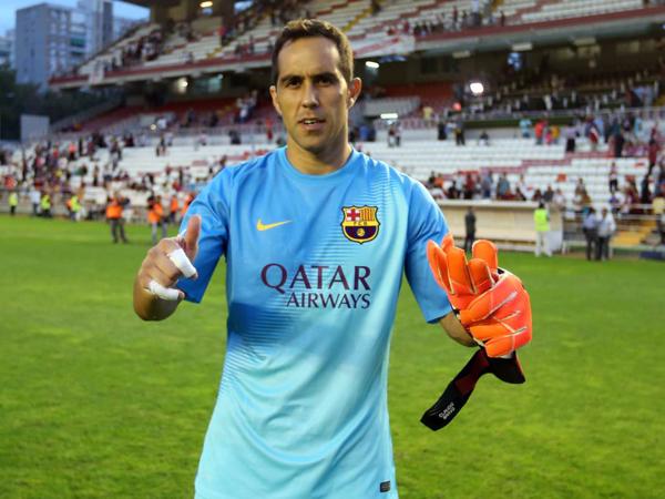 Claudio Bravo Sebut Persahabatan adalah Kunci Kesuksesan Barcelona
