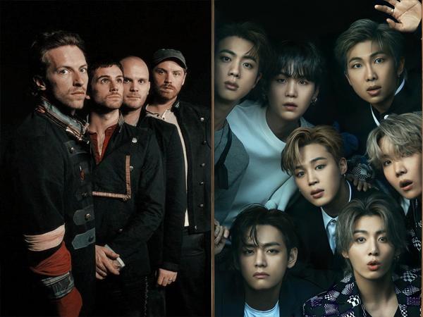 Big Hit Tanggapi Rumor BTS Jadi Featuring di Lagu Baru Coldplay