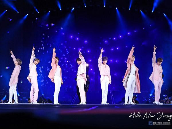 BTS Puncaki Penjualan Tiket Konser Dua Tahun Berturut-turut