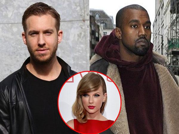 Calvin Harris Balas Celaan Kanye West untuk Taylor Swift?