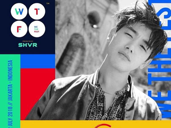 Susul CL dan Epik High, Kini Eric Nam Dipastikan Tampil di Festival Musik 'We The Fest 2018'!