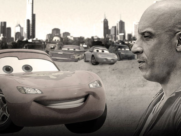 Ini Jadinya Jika 'Furious 7' Dibuat Ulang Oleh Film 'Cars'