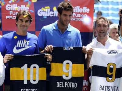 Akhirnya Federer Bertemu Legenda Argentina