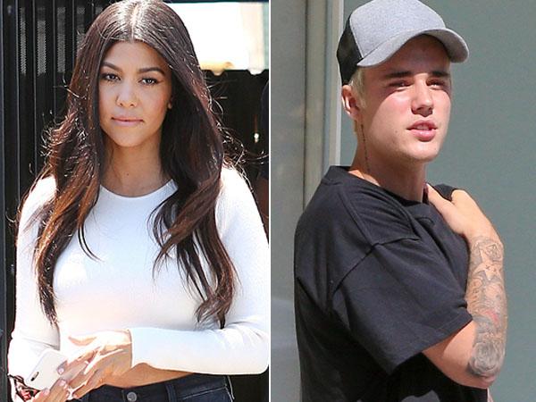 Lebih Tua 15 Tahun, Kourtney Kardashian PDKT dengan Justin Bieber?