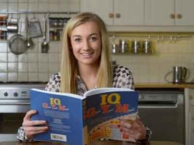 Lauren Remaja dengan IQ Diatas Einstein