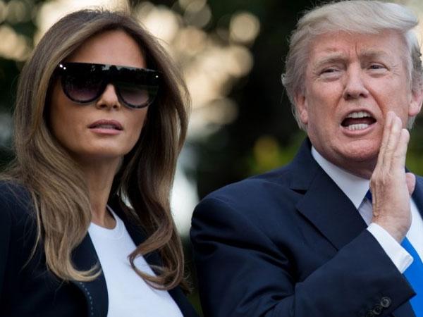 Netizen Curigai Melania Trump punya 'Kembaran Palsu'
