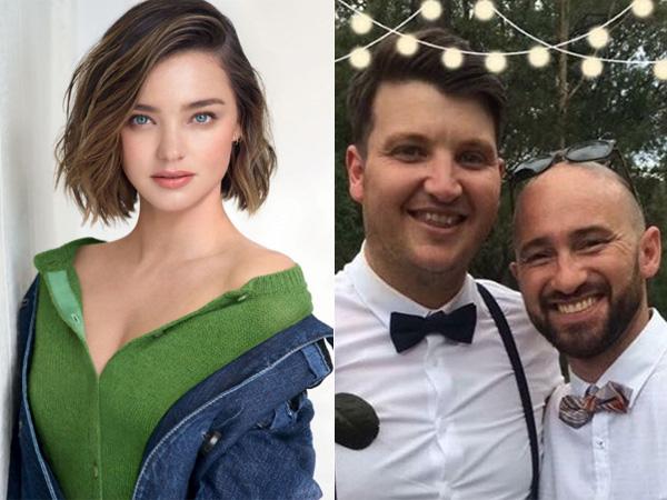 Sambut Tahun Baru, Miranda Kerr Jadi Bridesmaid di Pernikahan Sesama Jenis Sang Adik